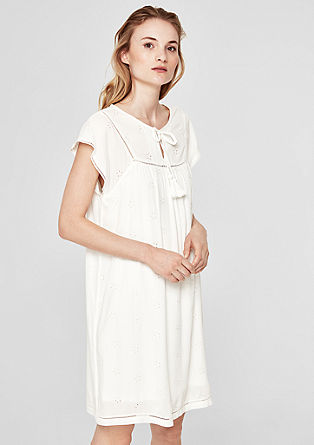 Dress with an openwork pattern from s.Oliver