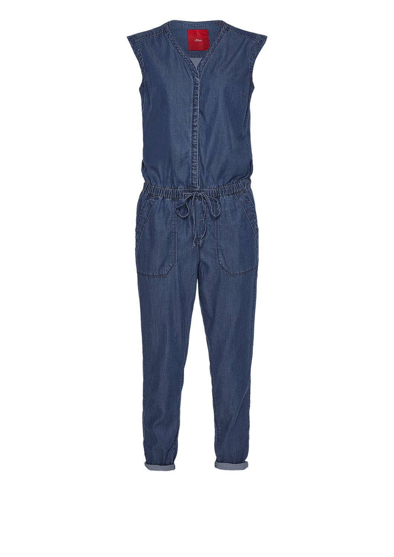 s.Oliver - Combinaison en jean à broderie - 4