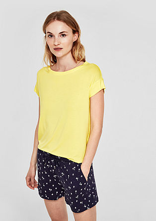 Oversized T-shirt with trims from s.Oliver