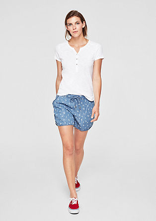 Smart Short: Light Denim-Shorts