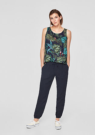 Smart Chino: Lanene hlače