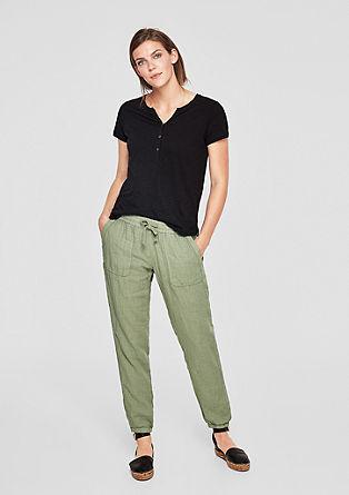 Smart chino: linnen broek