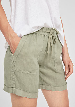 Smart Short: Leinenhose