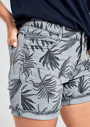 Smart Short: shorts with print from s.Oliver