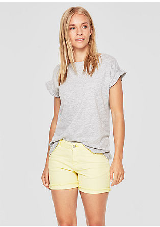 Smart Short: shorts with short fringing from s.Oliver