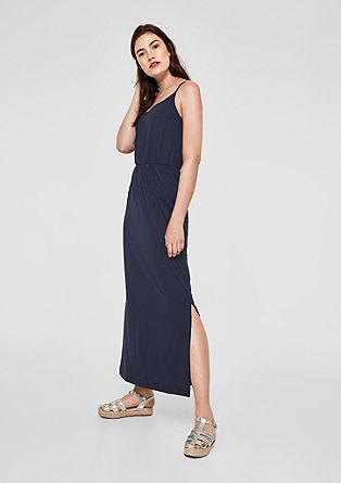 Jersey jurk in empire-stijl