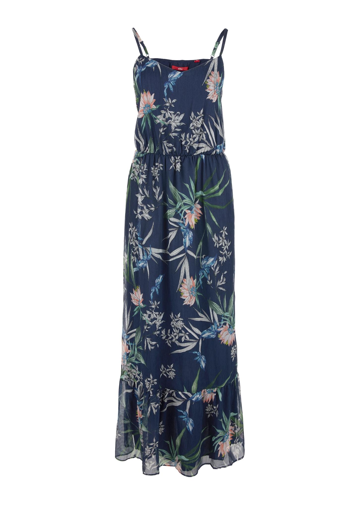 blau-18-polyester-futter-18-polyester Sonstige Kleider für Damen