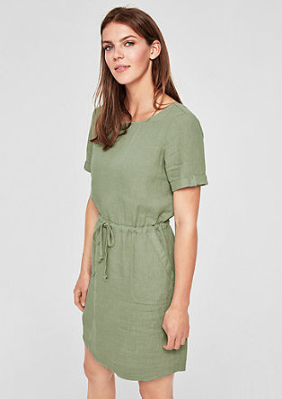 Lanena obleka
