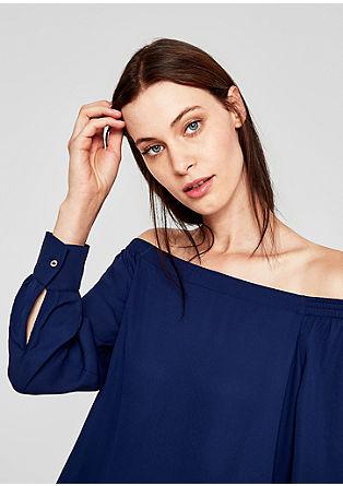 Lockere Off Shoulder-Bluse