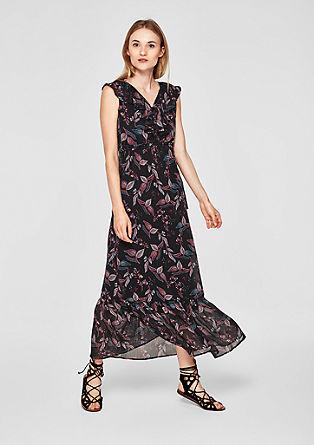 Chiffon jurk met volants