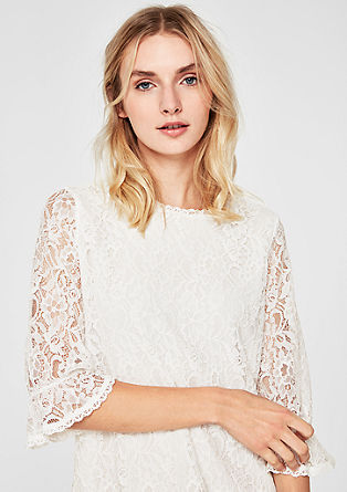Elegant lace blouse from s.Oliver