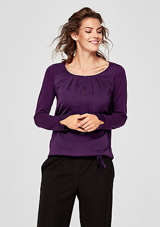 Tonal blouse top from s.Oliver