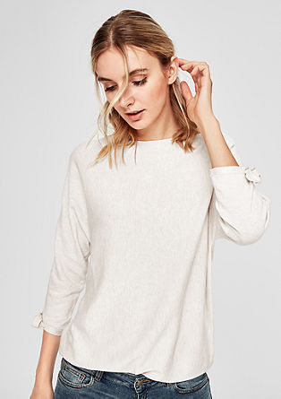 Pullover mit Fledermausärmeln