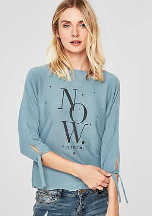 Pullover mit Statement-Wording