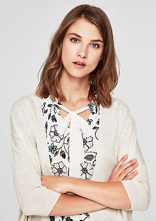 Lightweight short sleeve cardigan from s.Oliver