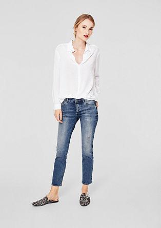 Shape Ankle: Jeans mit Nieten