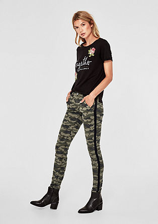 Shape Superskinny: Camouflage-Hose