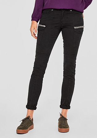 Shape Superskinny: stretch twill trousers from s.Oliver