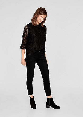 Shape Superskinny: jeans with studs from s.Oliver