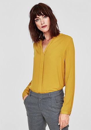 Bluza s teksturo dobby
