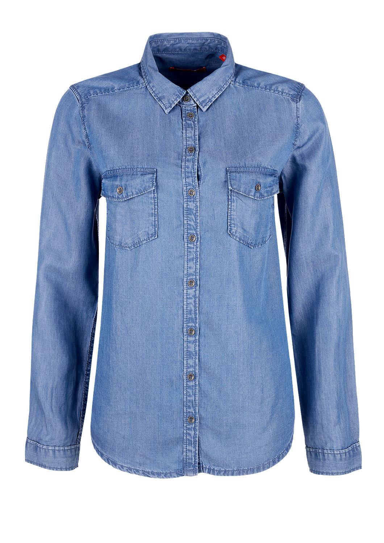 3f76af6ae2 Buy Lyocell denim shirt blouse