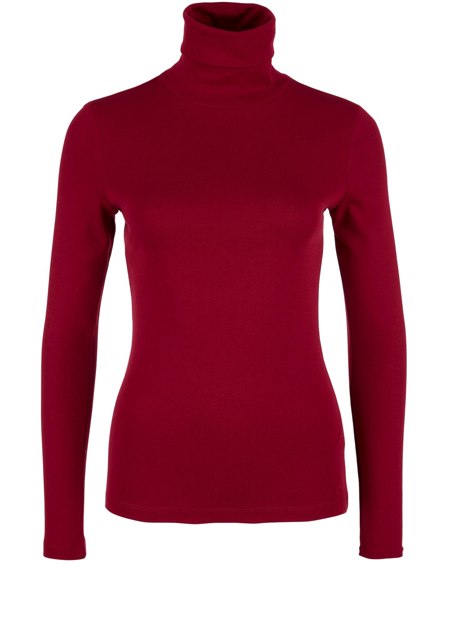 Rollkragenshirt | Bekleidung > Shirts > Rollkragenshirts | Rot | 100% baumwolle | s.Oliver
