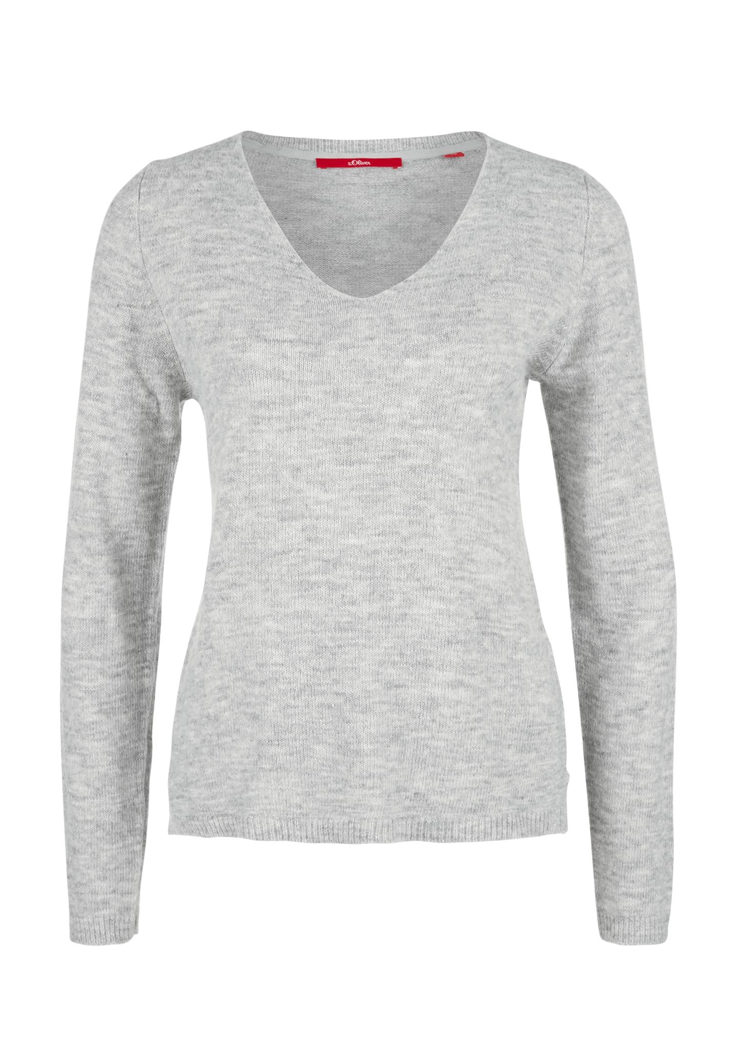 Q//S designed by s.Oliver Damen T-Shirt Baumwolle Black Stripes Schwarz XXL