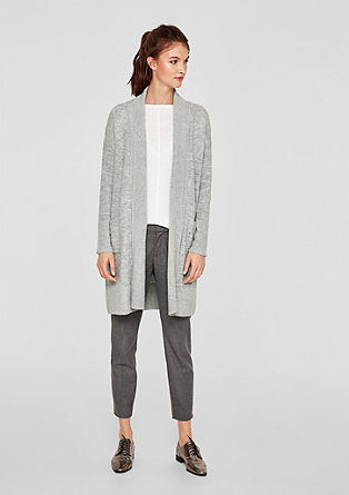 Melange long cardigan from s.Oliver