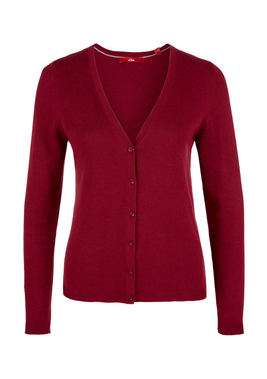 factory outlets how to buy running shoes Klassische Feinstrick-Cardigan kaufen   s.Oliver Shop