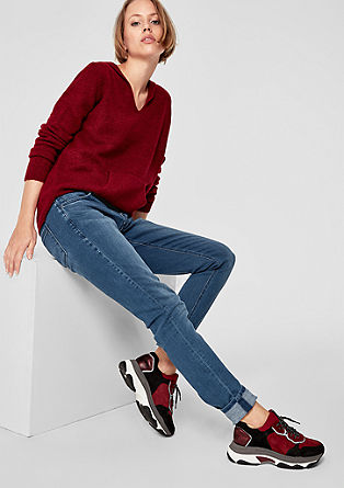 Shape Superskinny: jeans with buttons from s.Oliver