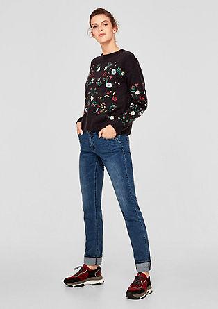 Shape Slim: strečové džíny snýtky