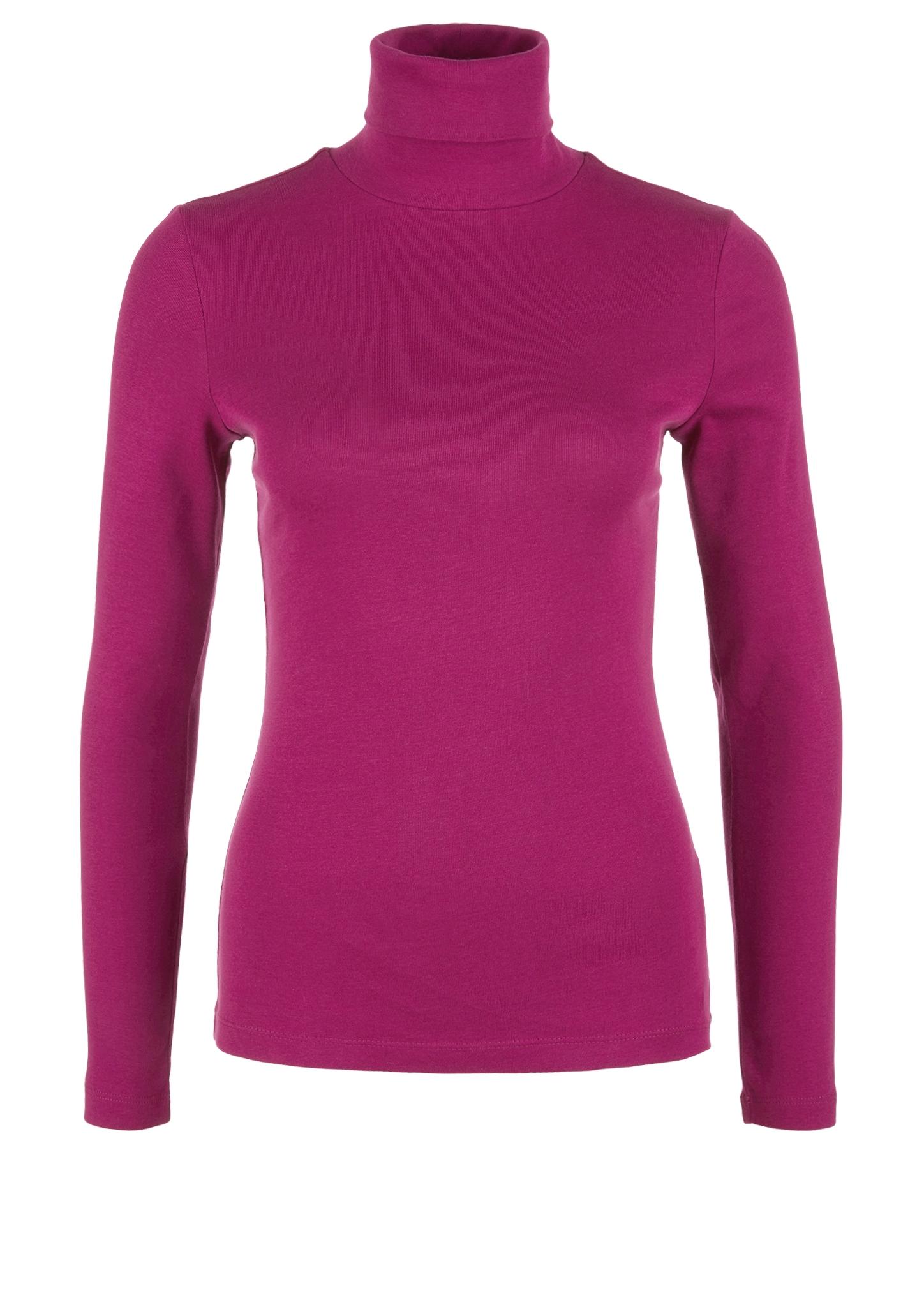 Rollkragenshirt | Bekleidung > Shirts > Rollkragenshirts | Pink | 100% baumwolle | s.Oliver
