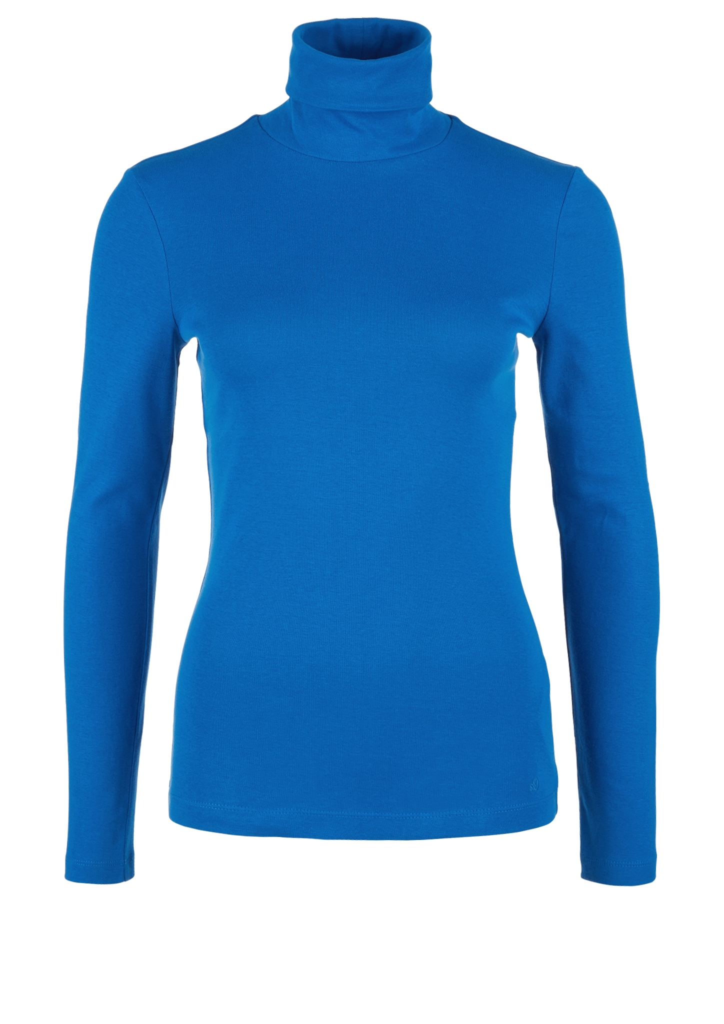 Rollkragenshirt | Bekleidung > Shirts > Rollkragenshirts | Blau | 100% baumwolle | s.Oliver