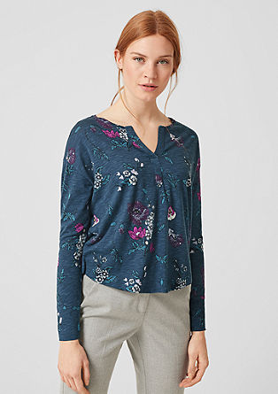 Tuniekshirt met print all-over