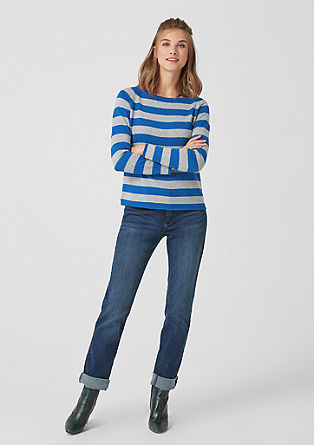 Striped jumper from s.Oliver
