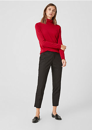 Basic polo neck jumper from s.Oliver
