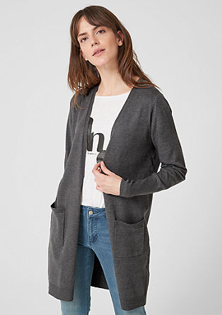 Long-style cardigan from s.Oliver