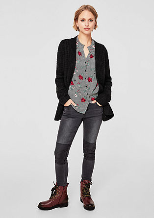 Cosy textured knit cardigan from s.Oliver