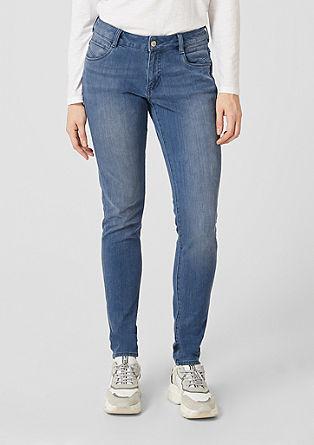 Shape superskinny: zachte jeans