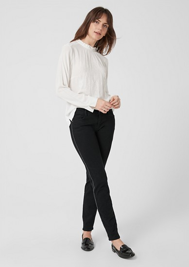 Shape Superskinny: Jeans with piping from s.Oliver