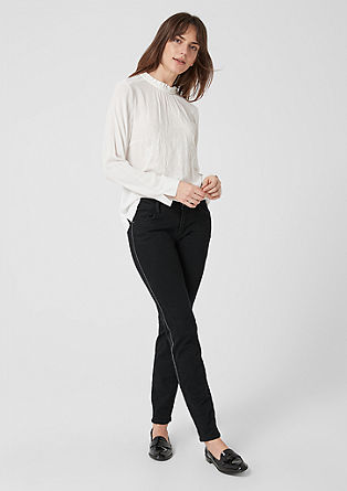 Shape superskinny: jeans met paspel