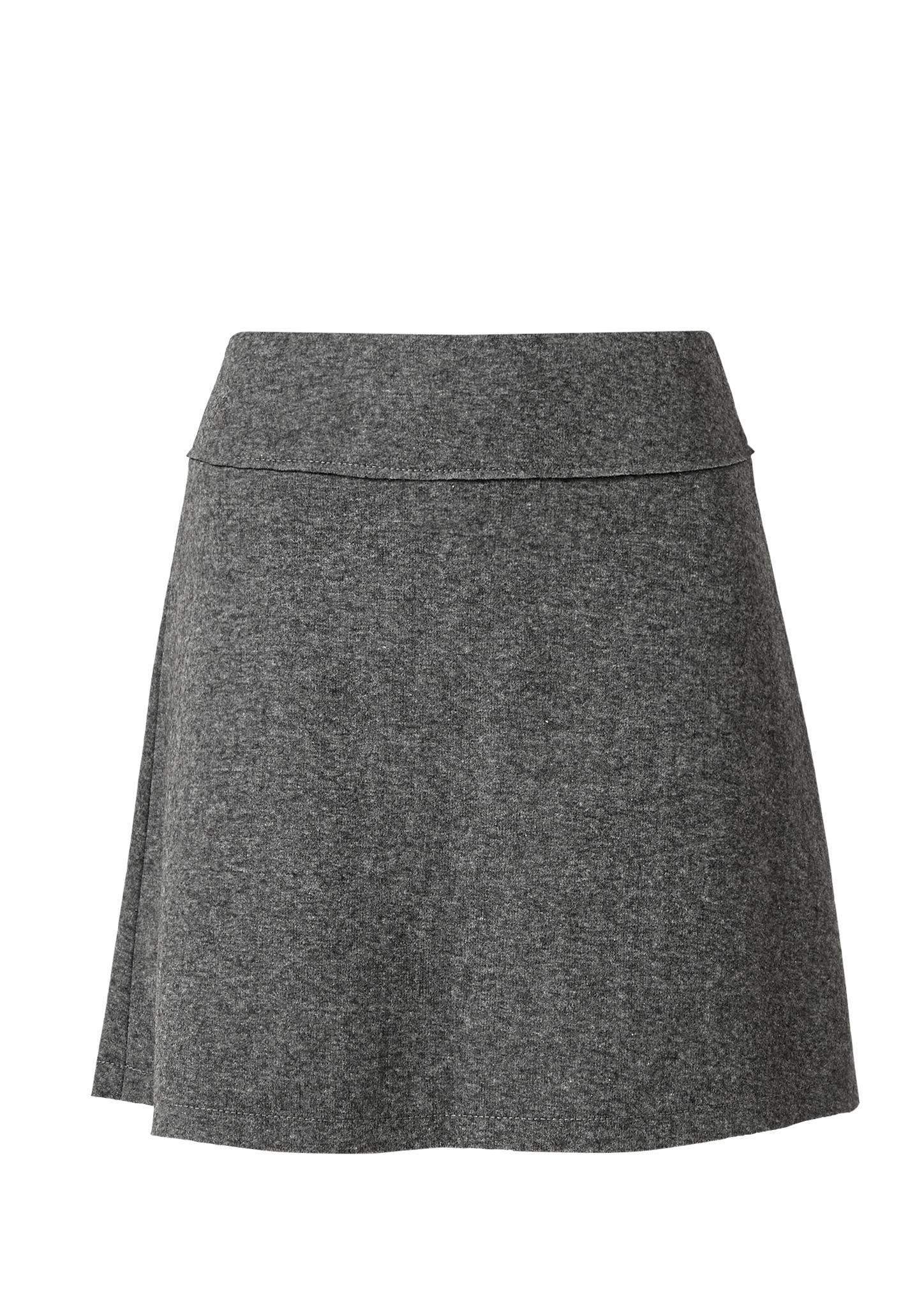 A-Linien-Rock   Bekleidung > Röcke > A-Linien Röcke   Grau/schwarz   Obermaterial 60% polyester -  35% wolle -  5% baumwolle  futter 100% polyester   s.Oliver