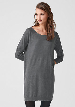 Soft fine knit dress from s.Oliver