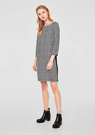 Blouse dress in a Prince of Wales check style from s.Oliver