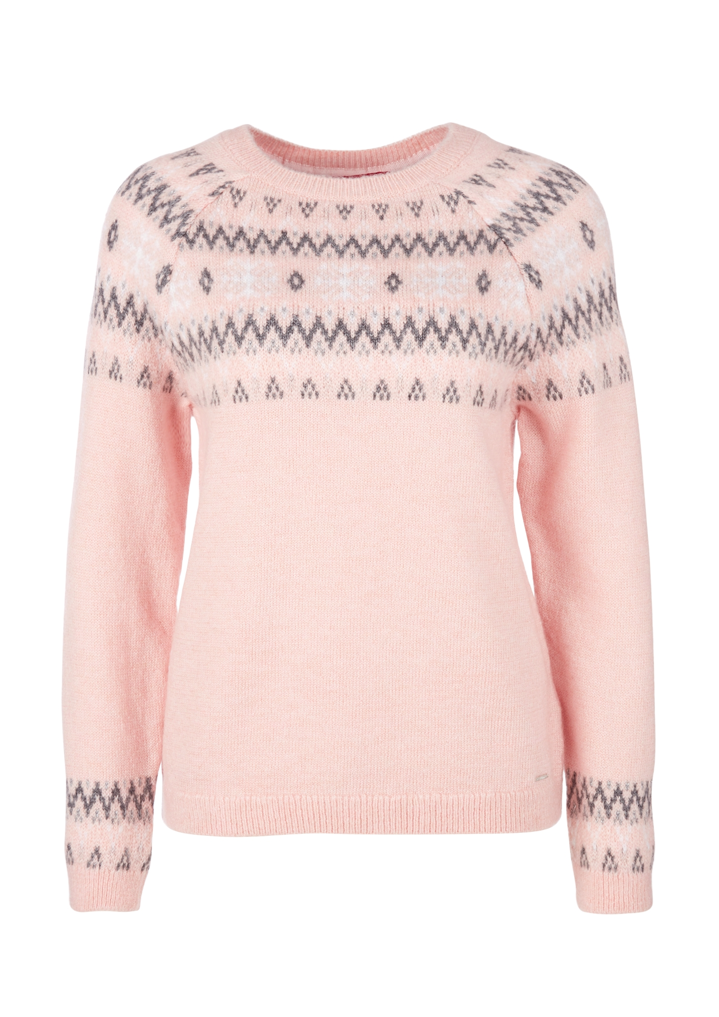 Norweger-Pullover | Bekleidung > Pullover > Norwegerpullover | Pink | 66% polyacryl -  27% polyester -  7% wolle | s.Oliver