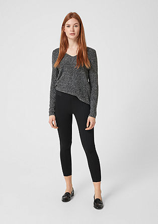 Jeggings stretch en maille interlock de s.Oliver