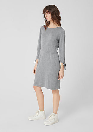 Knitted dress with bow details from s.Oliver