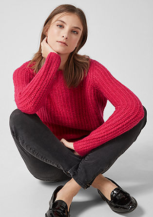 Fluffy chunky knit jumper from s.Oliver