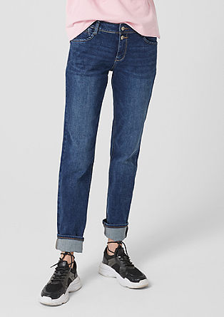 Smart Straight: Distressed jeans from s.Oliver