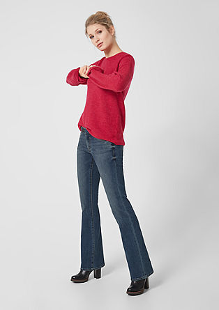Shape bootcut: stretchjeans